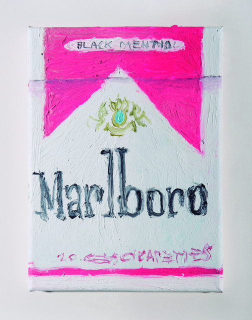 , 'Marlboro Pink,' 2018, Freight + Volume
