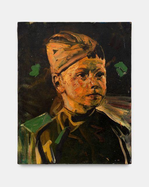 Matthieu Ronsse, 'Petrus Boris ronsse', 2017, Painting, Oil on canvas, Almine Rech