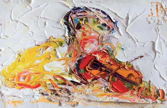 , 'The Autumnal Fiddler,' 2018, SOL Art Gallery