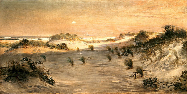 , 'Sand Dunes at Sunset, Atlantic City,' ca. 1885, White House Historical Association