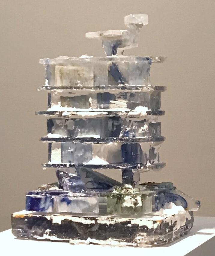 Jehoshua Rozenman Delft's Black/Blue 2018 29 x 24 x 10 cm glass, unique piece