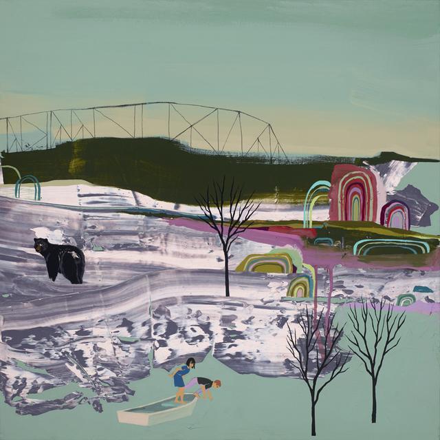 , 'Sailing Away,' 2015, Jonathan LeVine Projects