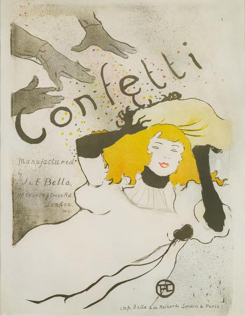 Henri de Toulouse-Lautrec, 'Confetti', 1894, Christopher-Clark Fine Art