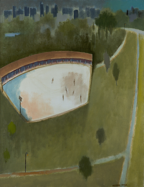 , 'Central Park Skaters,' 1981, Debra Force Fine Art