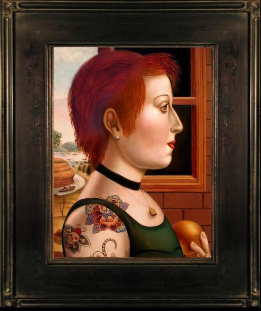 , 'Woman with Tattoos,' , Front Room Gallery