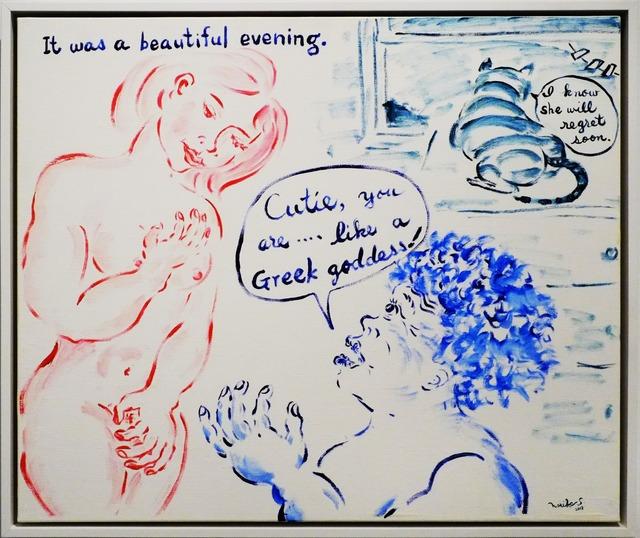 , 'It Was a Beautiful Night,' 2013, Deborah Colton Gallery