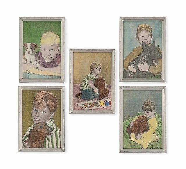 , 'Kinderfotos,' 1977, Richard Saltoun