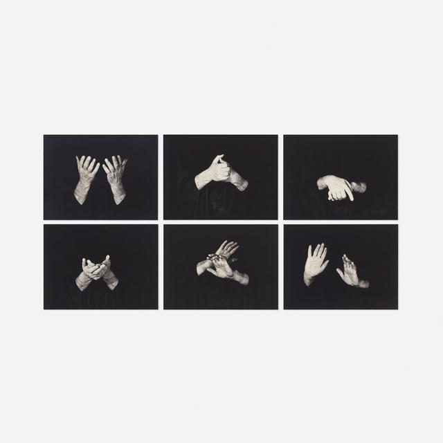 'Untitled (six works)', 1960, Wright