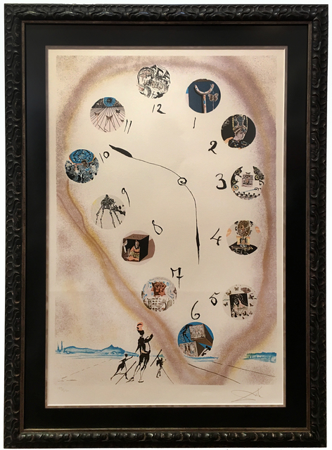 Salvador Dalí, 'Signed Dali Print, Limited Edition, Verified', Mr Musichead Gallery