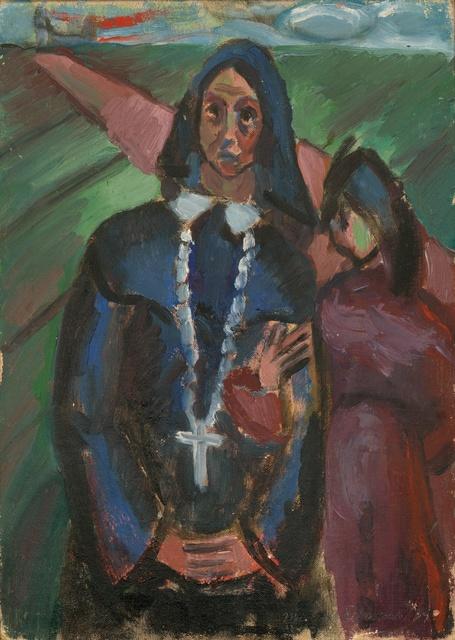 , 'Mexican Nun (Pre-W.P.A. #9),' 1939, InLiquid