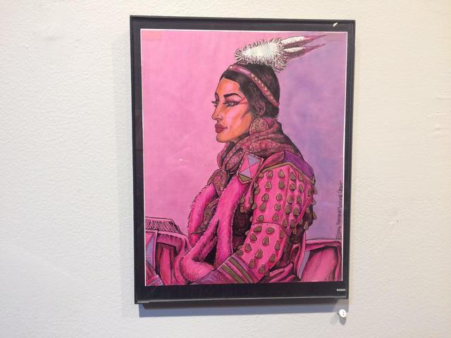 , 'Sister Series, Elk Tooth Dress (pink),' 2016, John Molloy Gallery