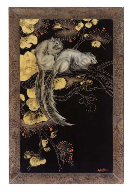 , 'Malaysian Squirrels in Elm Leaves,' , Galerie Dumonteil