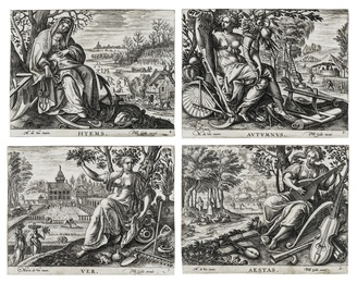 The Four Seasons, after Marten de Vos