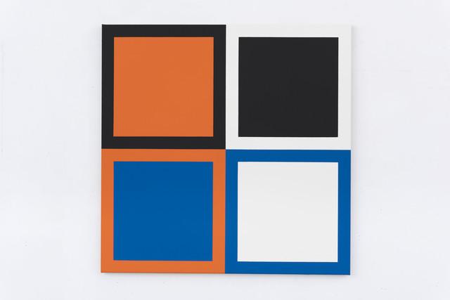 , 'Act (Orange, Blue),' 2015, Slewe