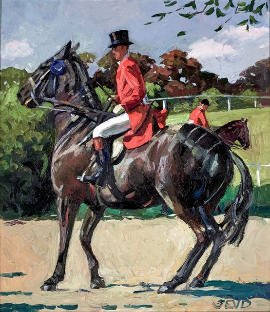 , 'The Windsor Horse Show,' 2016, Clarendon Fine Art