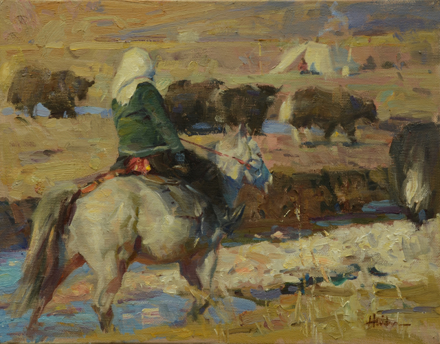 , 'Yak Herd,' , Trailside Galleries