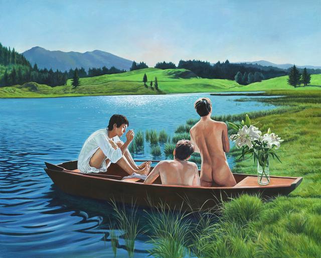 , 'Lily 百合,' 2018, Amy Li Gallery