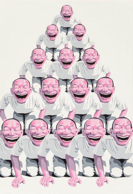 Yue Minjun, 'Pyramid', 2001, Heritage Auctions