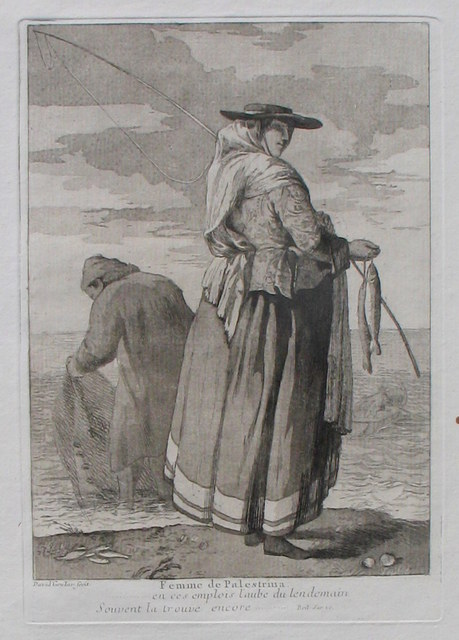 , 'A Woman of Palestrina,' 1775, Jan Johnson Old Master & Modern Prints