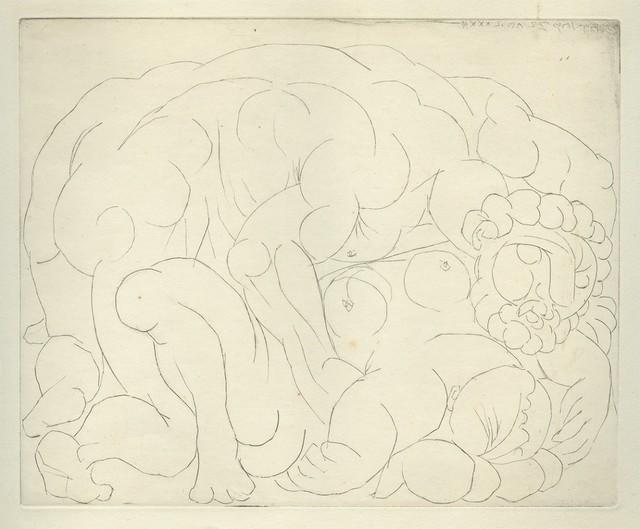 Pablo Picasso, 'Le Viol II', 1933, Print, Drypoint, Armstrong Fine Art