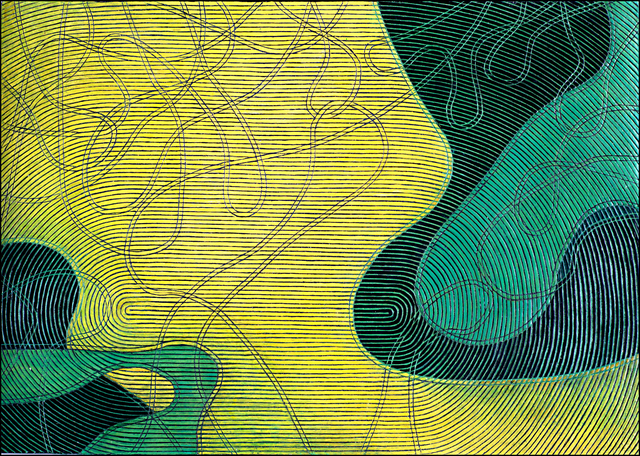 , 'Rotating Lines (Yellow Field Area),' , Nüart Gallery