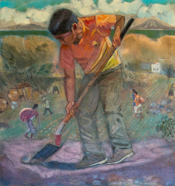 , 'Family Fields, Guatemala,' 2018, Asher Grey Gallery