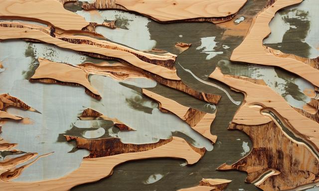 , 'Rivières sans nom II,' 2017, Newzones