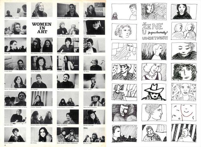, 'Women in Art - Women in Yugoslavian Art,' 1975, espaivisor - Galería Visor