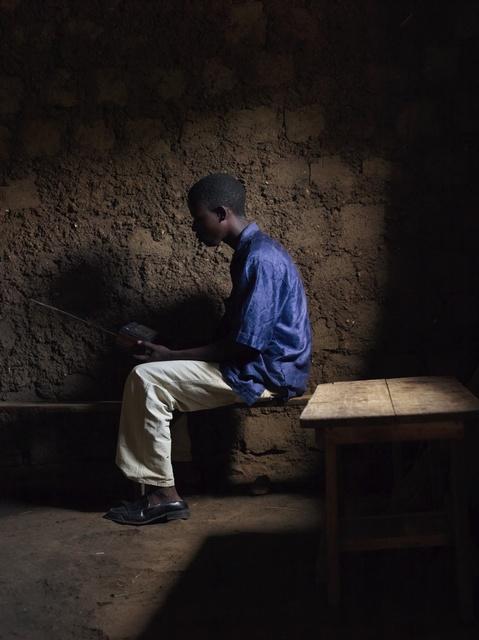 , 'Love Radio, Listeners 1, Musambira South, 8.54 pm,' 2014, Flatland Gallery
