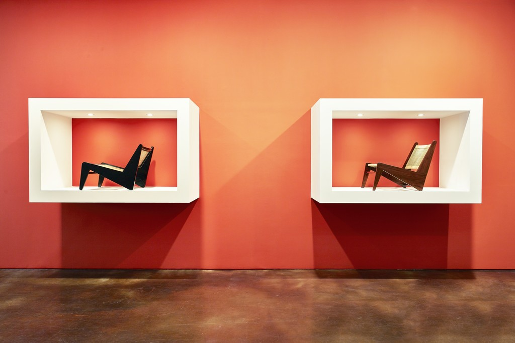 Installation view of Le Corbusier, Pierre Jeanneret: Chandigarh, India, 1951-66 at Kukje Gallery K2, First Floor Photo: Keith Park Image provided by Kukje Gallery