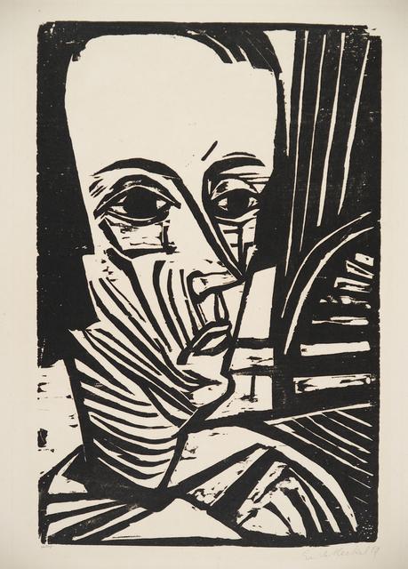 , 'A. N. (Portrait Asta Nielsen),' 1919, Henze & Ketterer