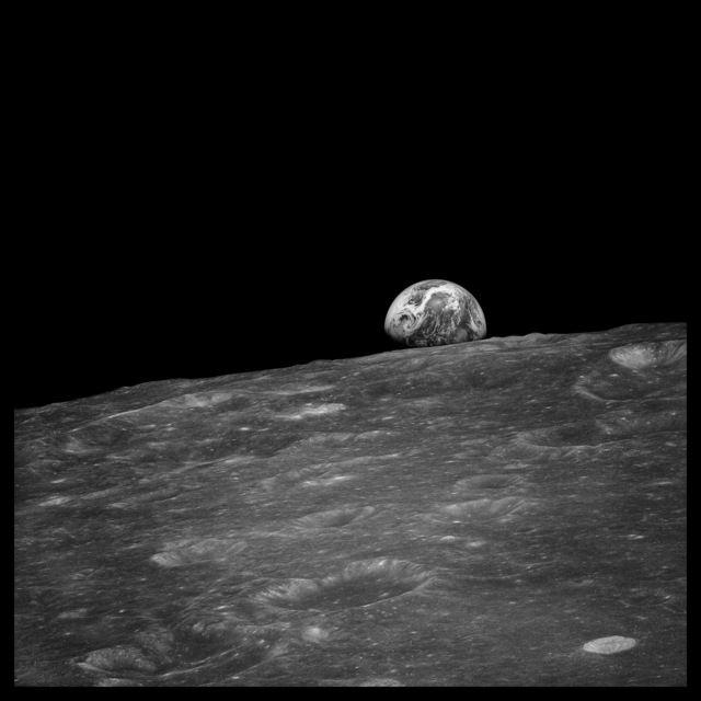 , '030 Earthrise Seen for the First Time By Human Eyes; Photographed by William Anders, Apollo 8, December 24, 1968,' 1999, Danziger Gallery