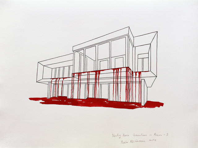 , 'Bleeding House Somewhere in Miami-3,' 2014, Temnikova & Kasela