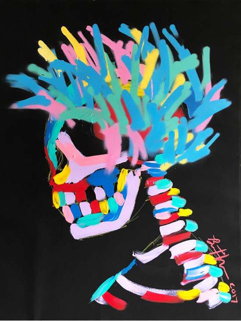 , 'Punk Spray,' 2017, Maddox Gallery