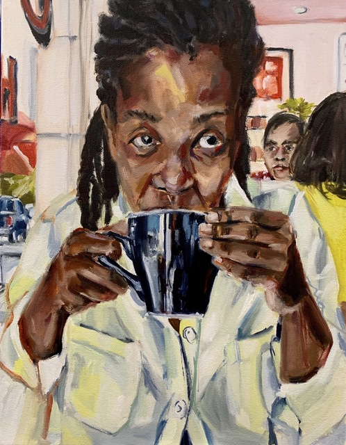 , 'Coffee At Cassell's,' 2019, Roberts Projects