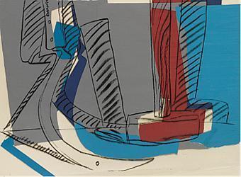 Andy Warhol, 'Hammer and sickle', 1978, Gallery Sofie Van de Velde