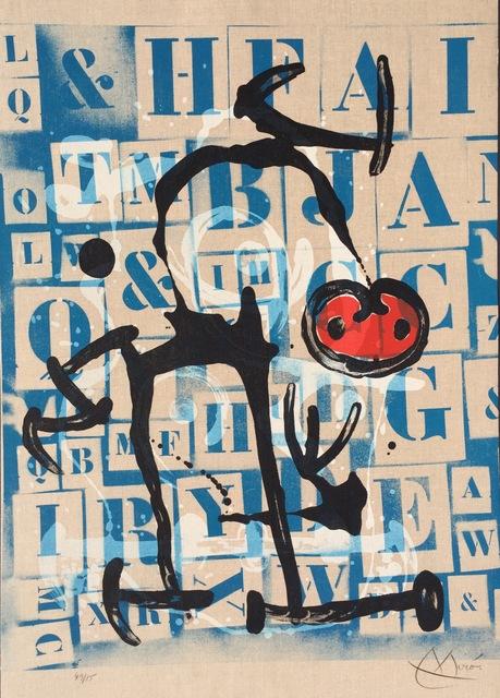 Joan Miró, 'Le Lettre - Rouge', 1969, Denis Bloch Fine Art