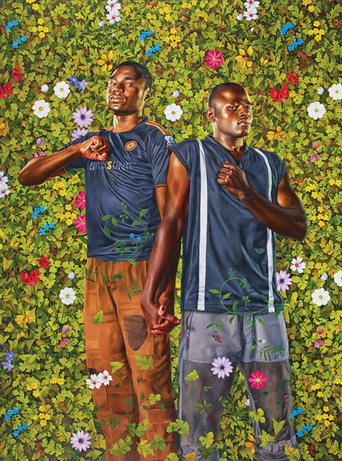 Kehinde Wiley, 'Place Soweto (National Assembly) II,' 2014, Galerie Daniel Templon