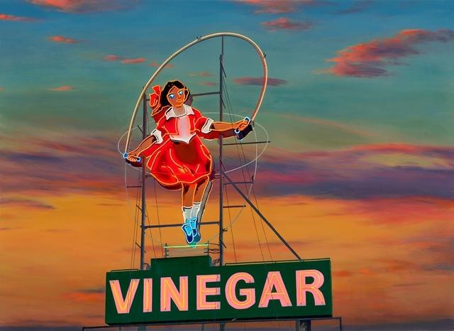 Jim Thalassoudis, 'The Skipping Girl, Little Audrey', 2014, Print, Limited edition archival pigment print on cotton rag 310 GSM paper, Angela Tandori Fine Art