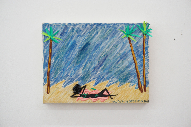 , 'Shashawna on the beach (miss you too bae),' 2018, V1 Gallery