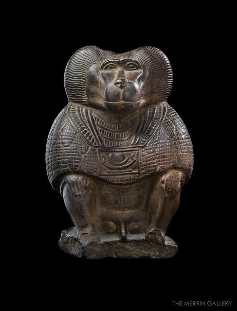 , 'THOTH AS BABOOON,' 1200 BCE-1100 BCE, The Merrin Gallery, Inc.