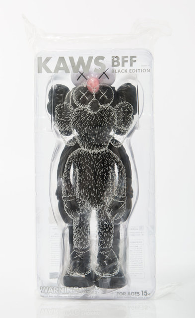 KAWS, 'BFF (Black)', 2017, Other, Painted cast vinyl, Heritage Auctions