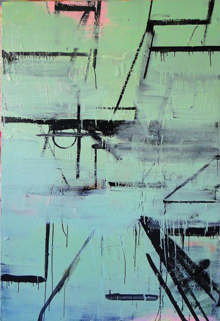 , 'Pintura Sem Título (Sade escapa da Bastilha),' 2016, Roberto Alban Galeria de Arte