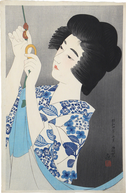 , 'The First Collection of Modern Beauties: Mosquito Net,' ca. 1929, Scholten Japanese Art