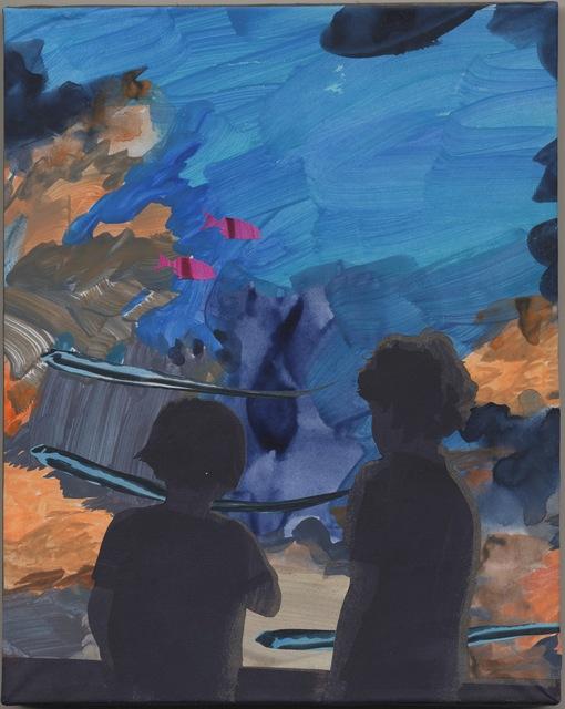 , 'Eels,' 2015, De Buck Gallery