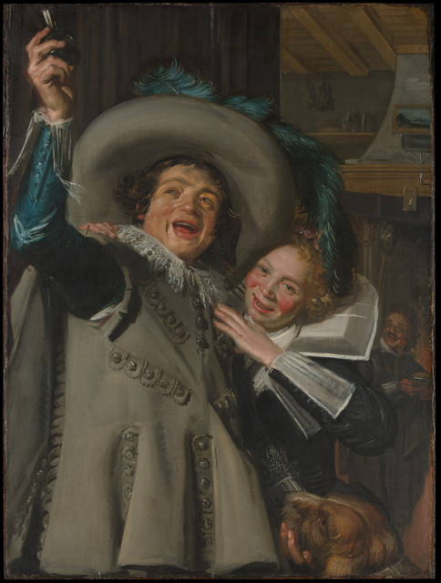 "Frans Hals, 'Young Man and Woman in an Inn (""Yonker Ramp and His Sweetheart"")', 1623, The Metropolitan Museum of Art"