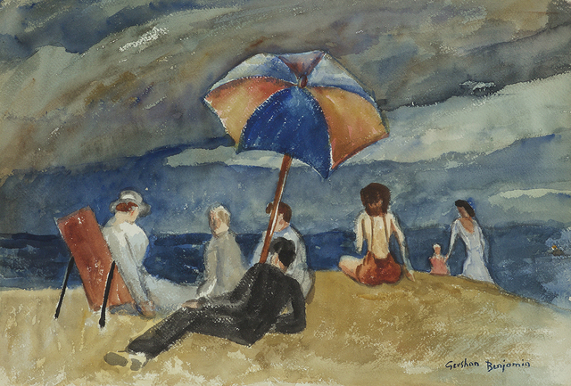 , 'At the Beach VI,' ca. 1935, Gerald Peters Gallery