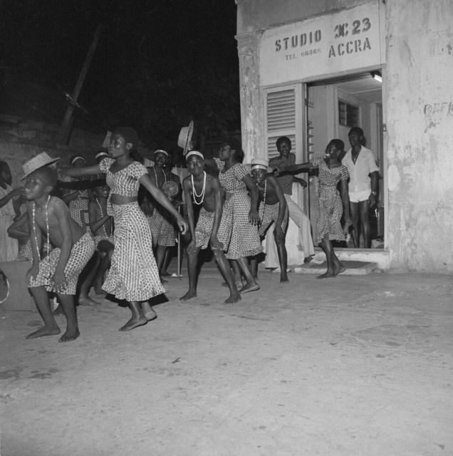 , 'Fee Hi Cultural Group, performance for American musicians visiting Ghana, Accra, c. 1981 ,' 2020, Galerie Clémentine de la Féronnière