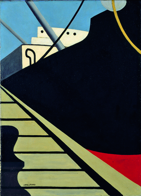 , 'At the Dock,' 1940, American Federation of Arts
