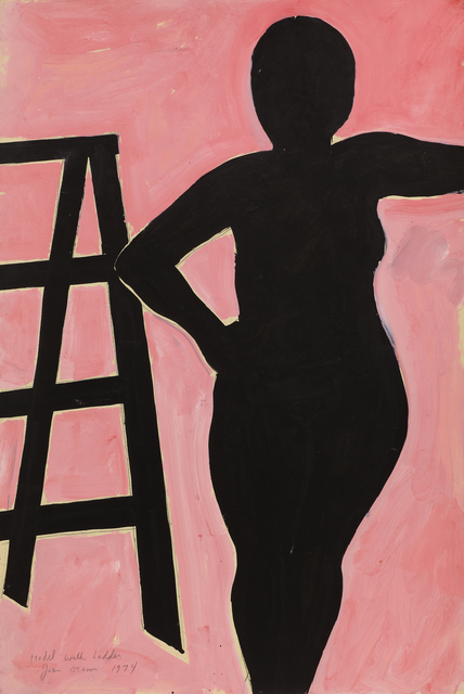 Joan Brown, 'Model with Ladder ', 1974, Anglim Gilbert Gallery